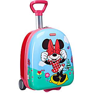Чемодан детский 2-х колесный Disney Минни Маус