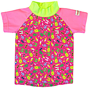 Купальные костюмы с защитой от солнца ImseVimse Пляжная жизнь розовый