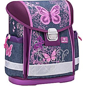 Школьный ранец Belmil 403 13 Purple Flying Butterfly – Белмил Бабочка фиолетовый