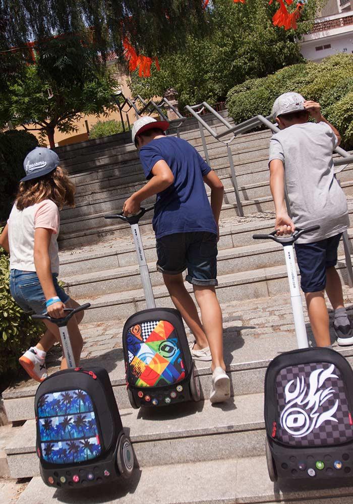 Рюкзак на колесиках Roller Nikidom White Fire XL арт. 9319 (27 литров), - фото 18