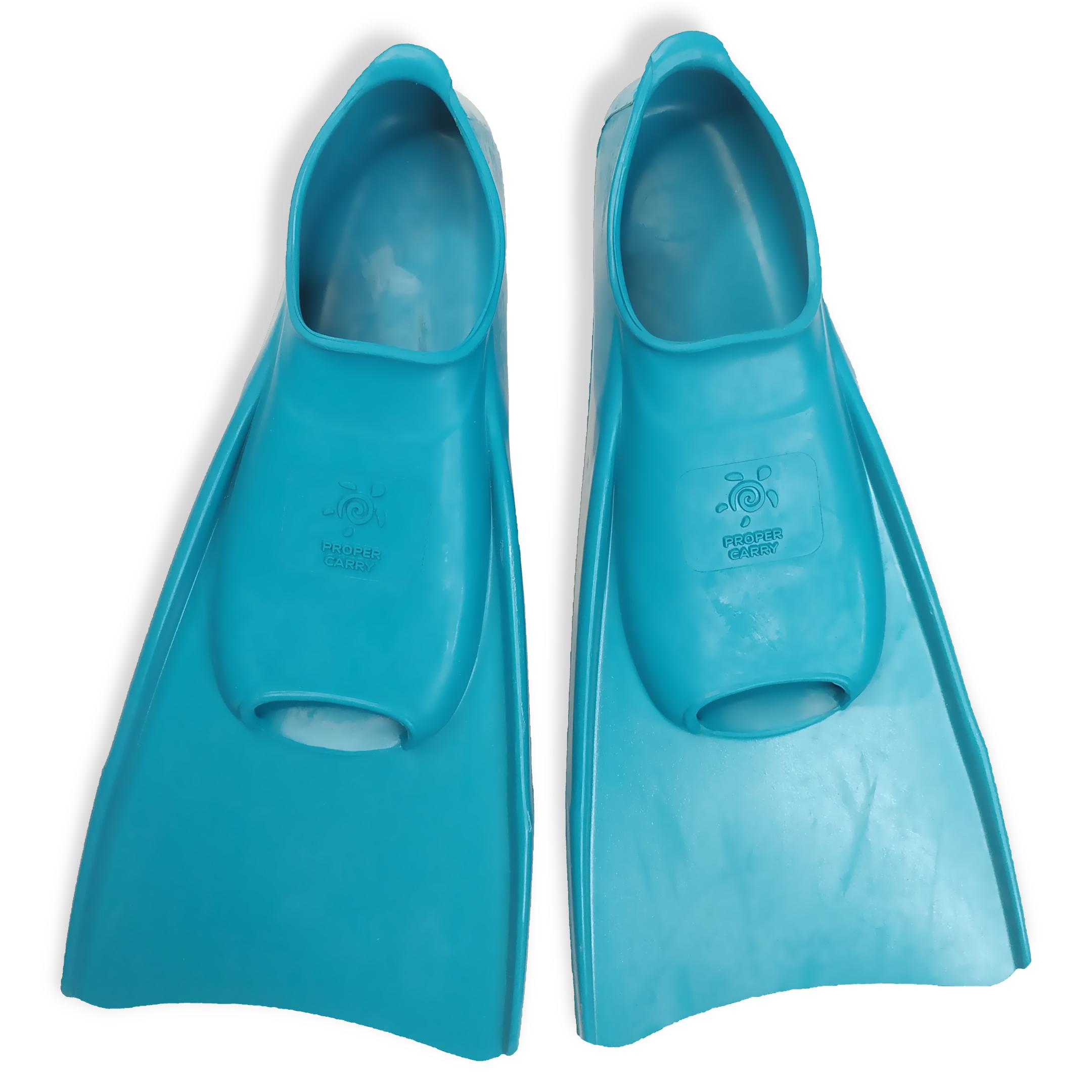 Детские ласты для плавания Proper-Carry тренировочные р. 29-30, 31-32, 33-34, 35-36, 37-38, 39-40, - фото 1